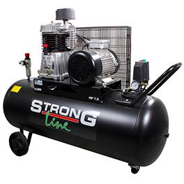 Kompressori 3-V 7,5hp 925l / 200l musta